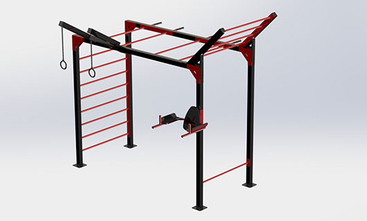 "<span lang =""bg"">OF0017-4 Multifunctional street workout equipment</span>"