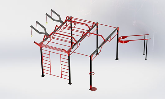 "<span lang =""bg"">OF0017 Multifunctional street workout equipment</span>"